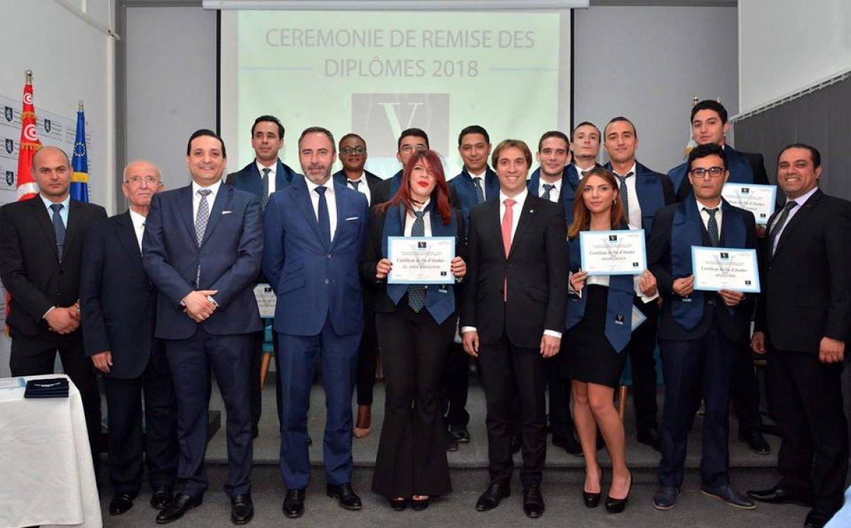 S.E Patrice Bergamini, Ambassadeur de l'Union Européenne Parrain de la Promotion de Vatel Tunis