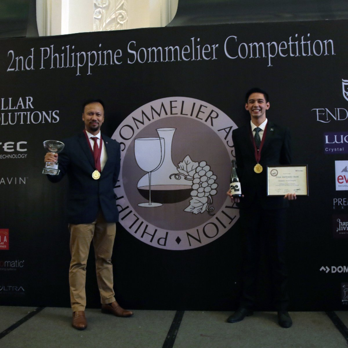 A test of grace and good taste: Vatel Manila's triumph at the 2nd Philippine Sommelier Competition