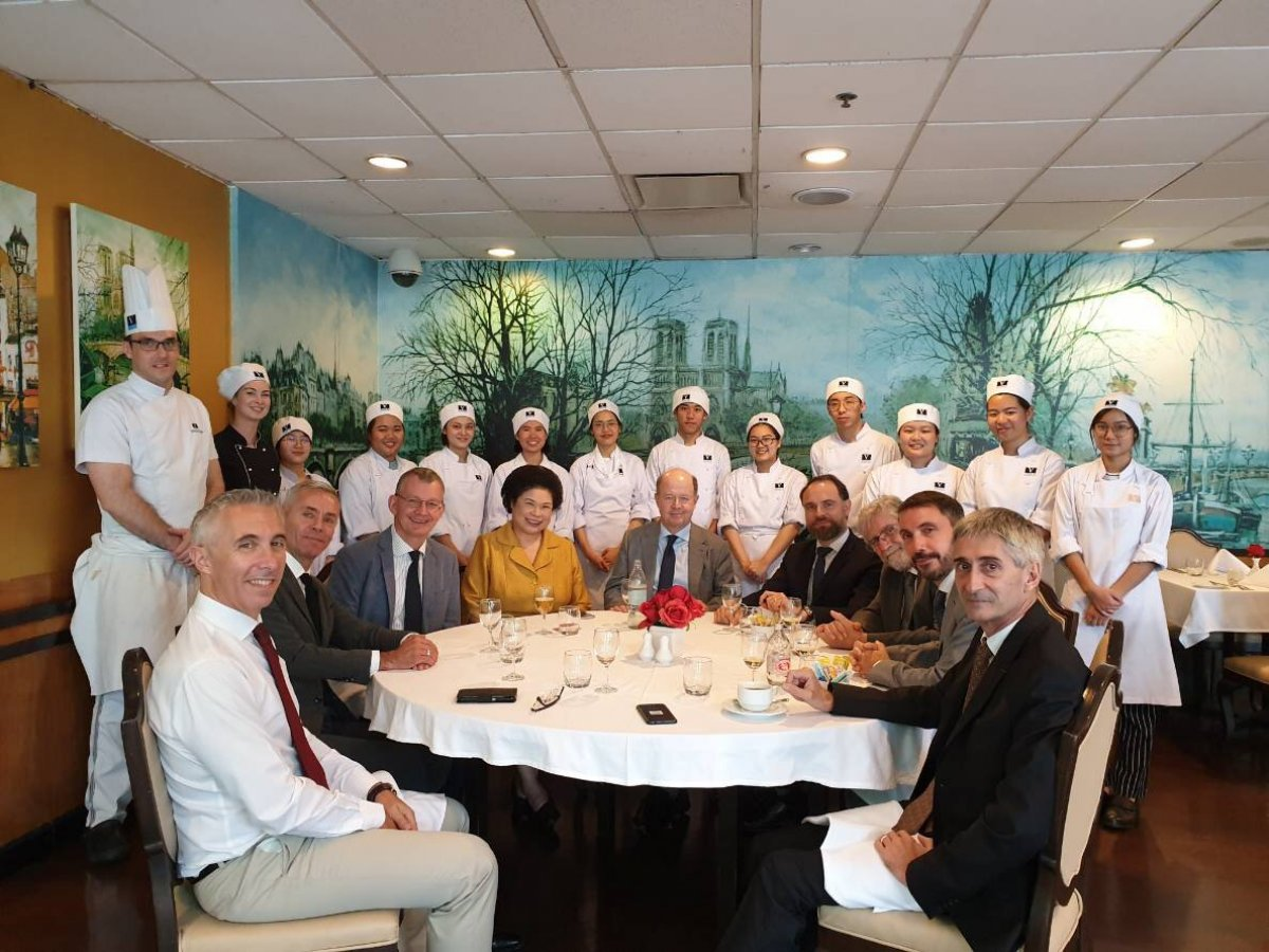 Celebratory Luncheon with the French Ambassador at Vatel Restaurant