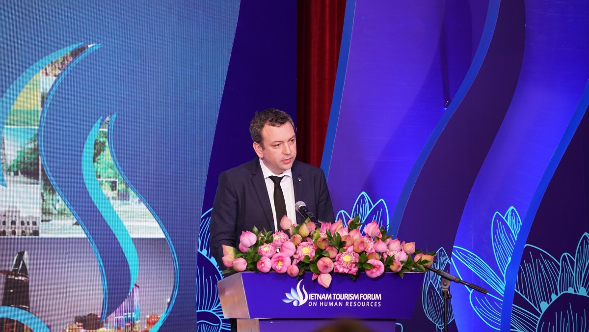 Vietnam tourism human resource forum 2019 organized by Hoa Sen University