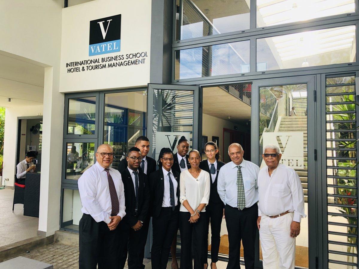 Seychelles Delegation - Courtesy Visit at Vatel Mauritius