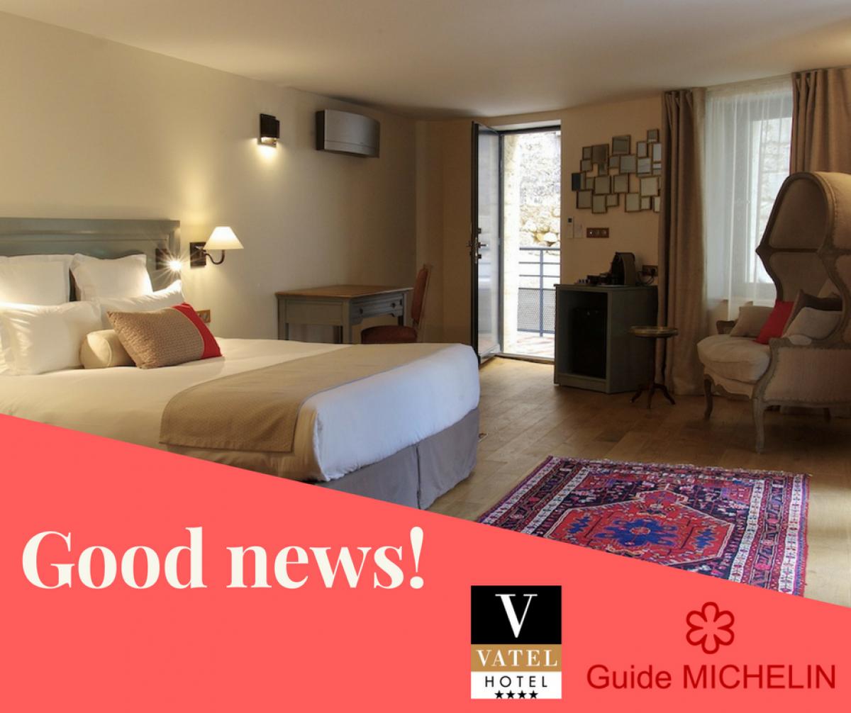 Hôtel Vatel Bordeaux : inscription au Guide Michelin 2018 !