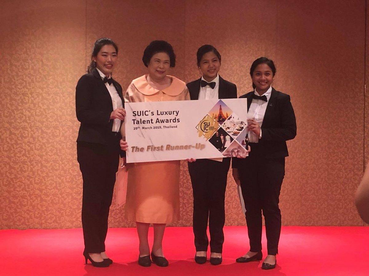 Vatel Manila students bag 2nd place at international Luxury Talent Awards competition by Silpakorn University International College