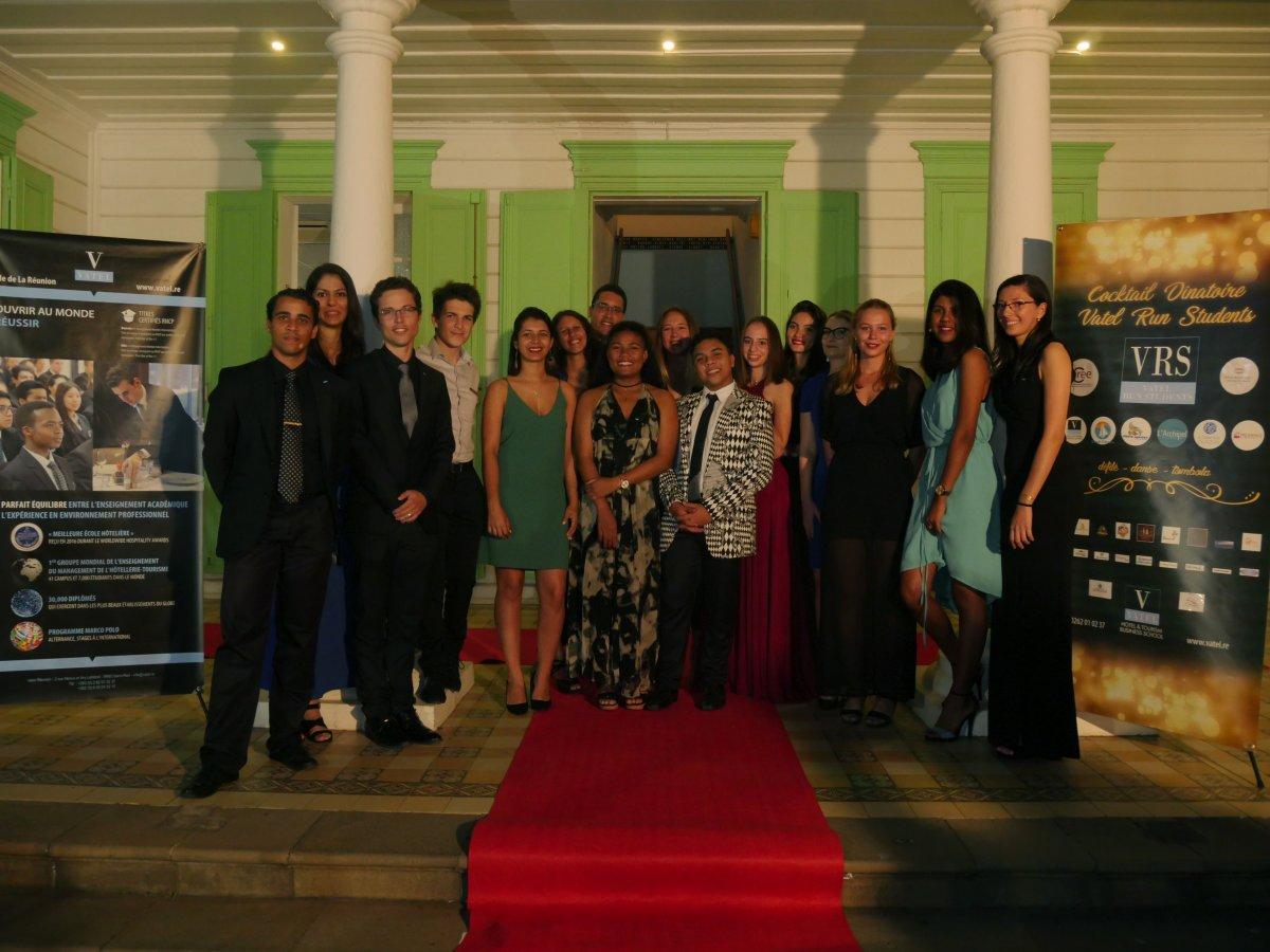 Inauguration Vatel Run Students