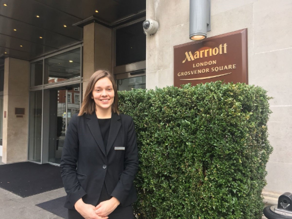 My work as an executive lounge supervisor in the london marriott international