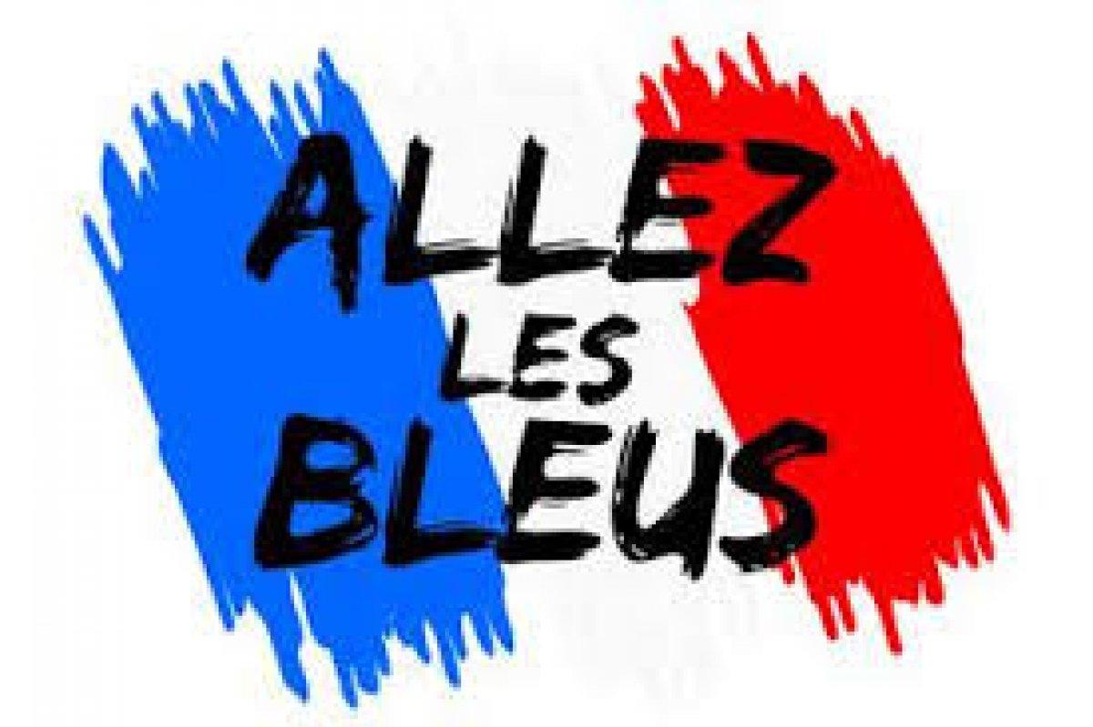 ALLEZ LES BLEUS! #FiersdetreBleus