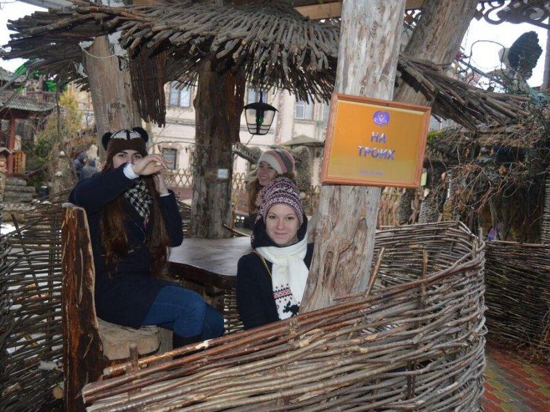 Vatel МОСКВА (Moscow) - Студенты Ватель в гостях на ферме «Северный олень» - 26