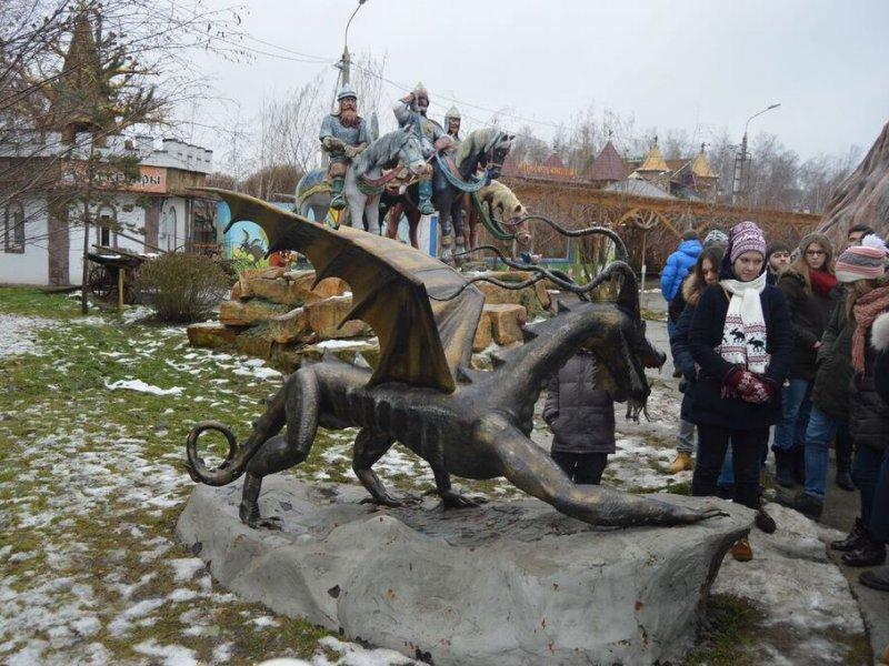 Vatel МОСКВА (Moscow) - Студенты Ватель в гостях на ферме «Северный олень» - 27