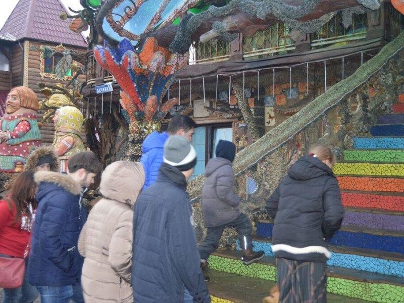 Vatel МОСКВА (Moscow) - Студенты Ватель в гостях на ферме «Северный олень» - 34