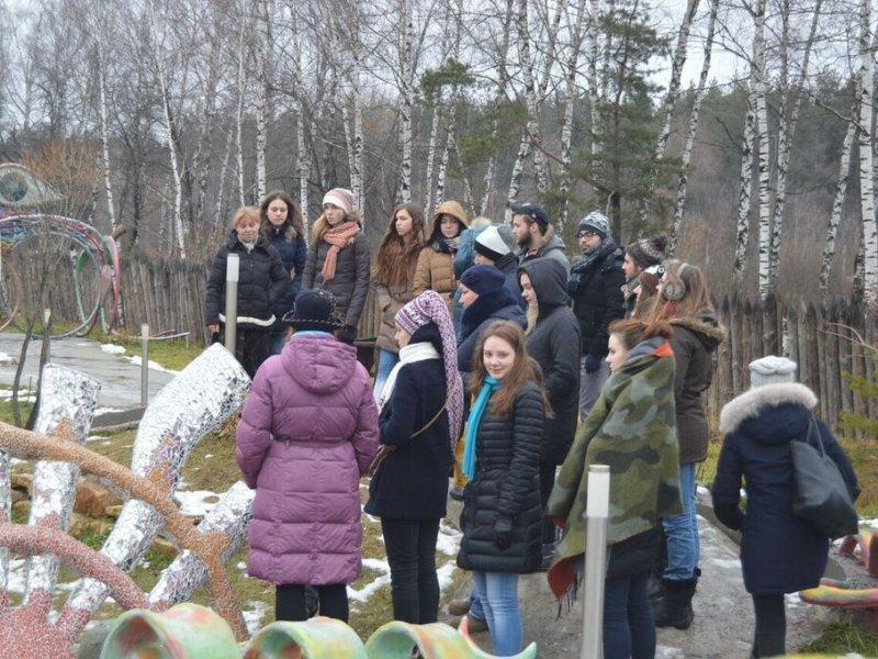 Vatel МОСКВА (Moscow) - Студенты Ватель в гостях на ферме «Северный олень» - 35