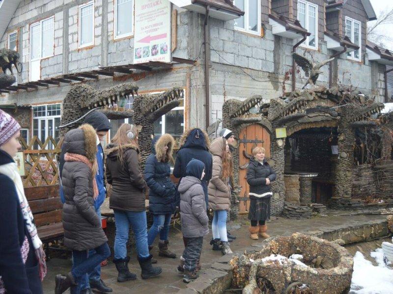 Vatel МОСКВА (Moscow) - Студенты Ватель в гостях на ферме «Северный олень» - 36