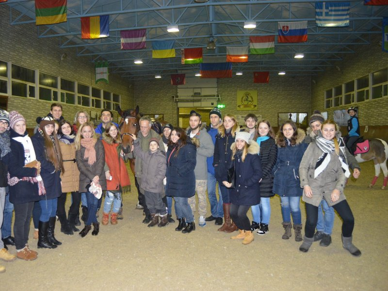 Vatel МОСКВА (Moscow) - Студенты Ватель в гостях на ферме «Северный олень» - 40