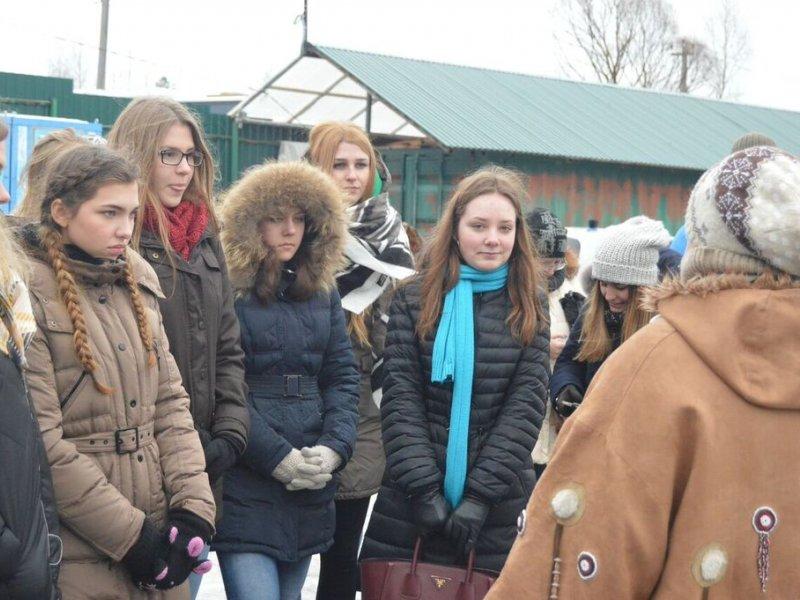 Vatel МОСКВА (Moscow) - Студенты Ватель в гостях на ферме «Северный олень» - 45