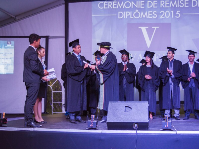 Vatel Mauritius - Graduation 2015 - 8