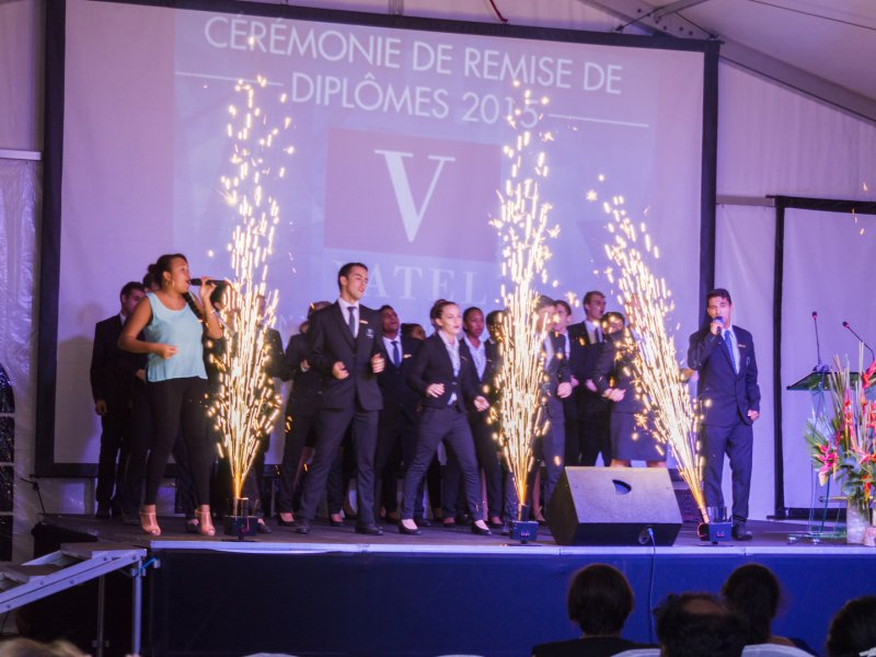 Vatel Mauritius - Graduation 2015 - 9