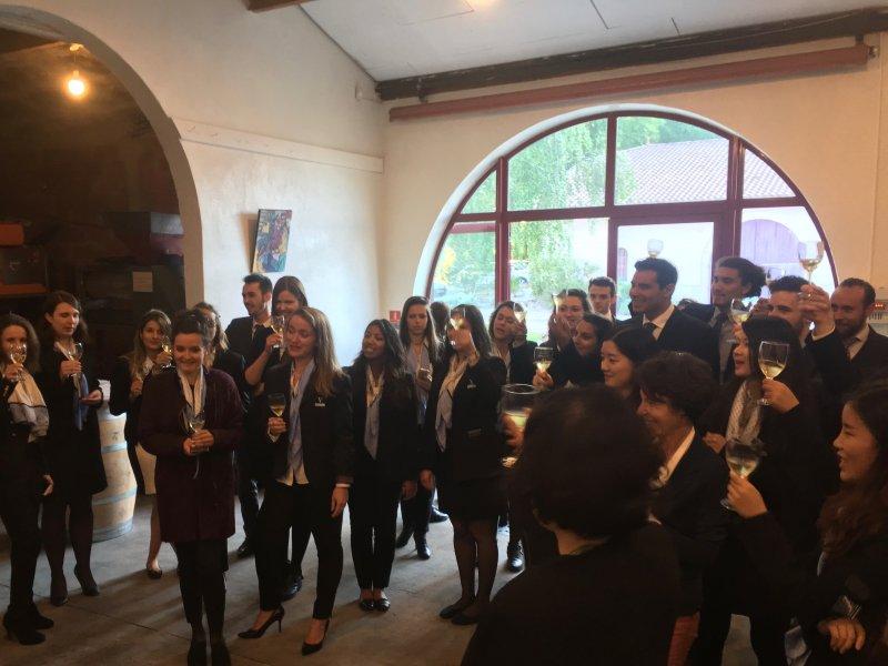 Vatel Bordeaux - Graduation ceremony M5, Mi5 2017, Château Haut-Lagrange - 7