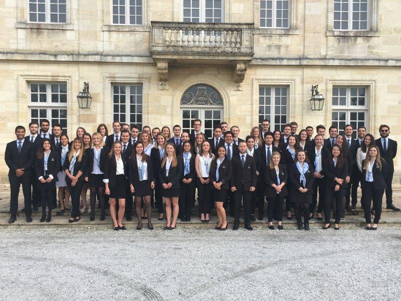 Vatel Bordeaux - Baptême de Promotion Bachelor 2016 - 2