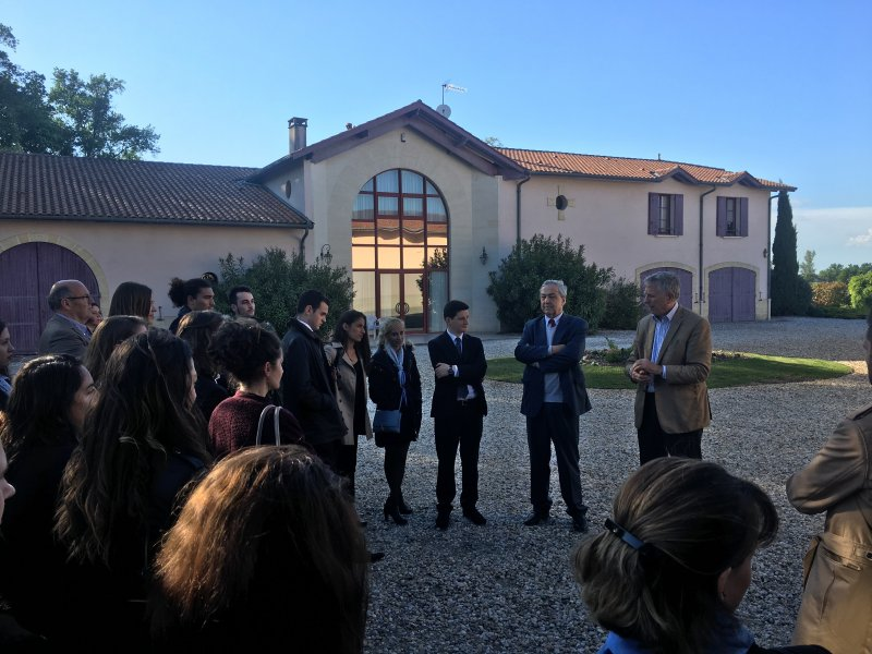 Vatel Bordeaux - Baptême de promotion M5, Mi5 2017, Château Haut-Lagrange - 5