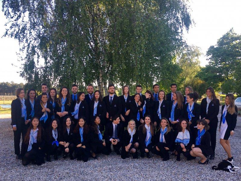 Vatel Bordeaux - Graduation ceremony M5, Mi5 2017, Château Haut-Lagrange - 2