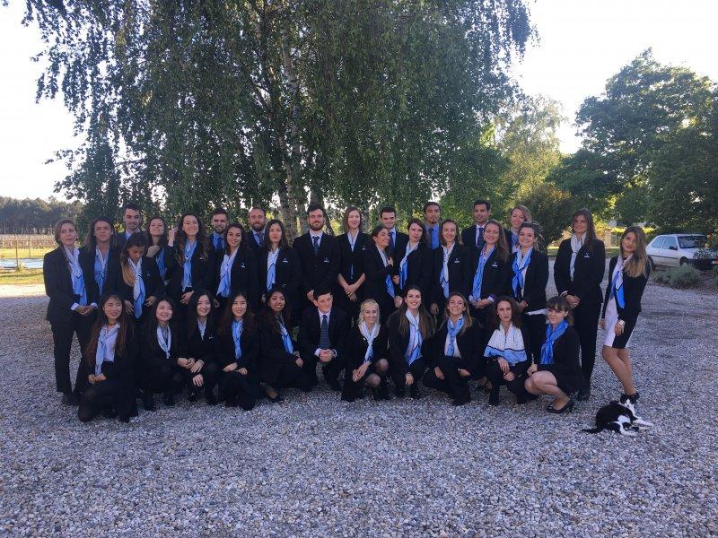 Vatel Bordeaux - Graduation ceremony M5, Mi5 2017, Château Haut-Lagrange - 4