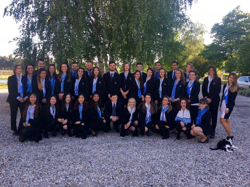 Vatel Bordeaux - Baptême de promotion M5, Mi5 2017, Château Haut-Lagrange - 1