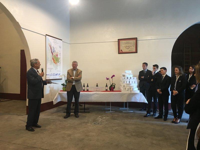 Vatel Bordeaux - Baptême de promotion M5, Mi5 2017, Château Haut-Lagrange - 6