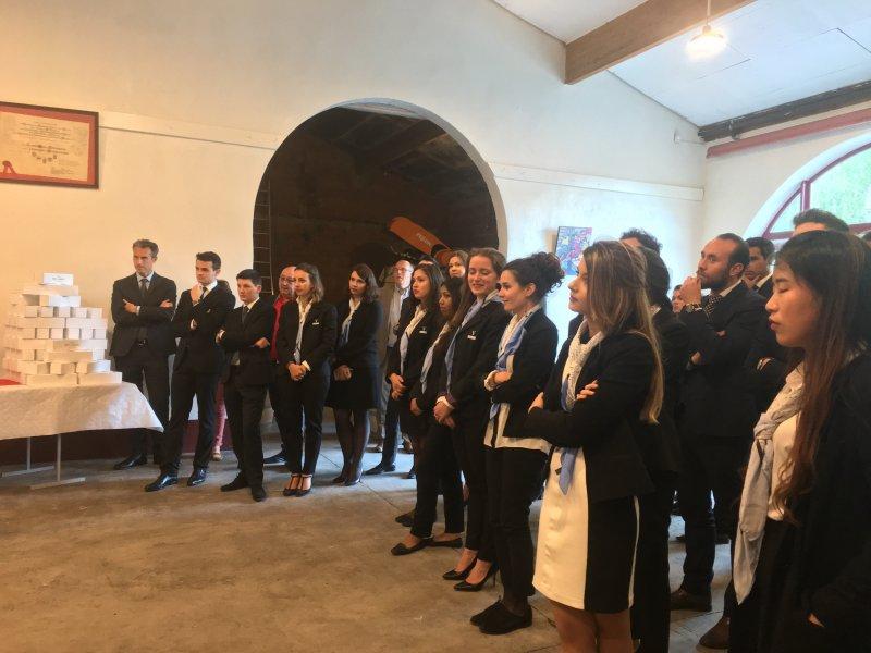 Vatel Bordeaux - Baptême de promotion M5, Mi5 2017, Château Haut-Lagrange - 8
