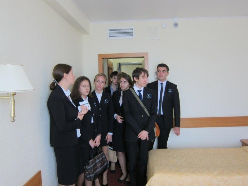 Vatel МОСКВА (Moscow) - Студенты первого курса набор 2015 на профессиональной экскурсии в Туристском Гостиничном Комплексе «Измайлово» («Гамма», «Дельта») - 10