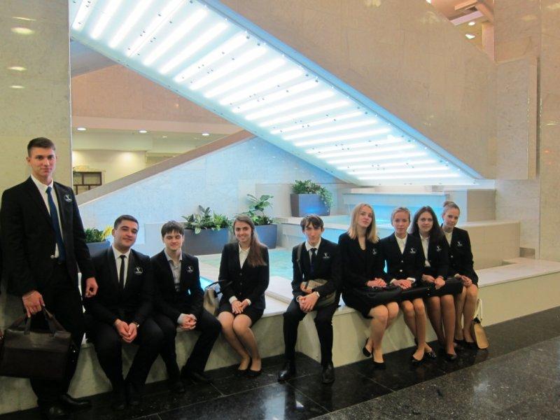 Vatel МОСКВА (Moscow) - Студенты первого курса набор 2015 на профессиональной экскурсии в Туристском Гостиничном Комплексе «Измайлово» («Гамма», «Дельта») - 12