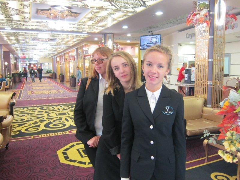 Vatel МОСКВА (Moscow) - Студенты первого курса набор 2015 на профессиональной экскурсии в Туристском Гостиничном Комплексе «Измайлово» («Гамма», «Дельта») - 3