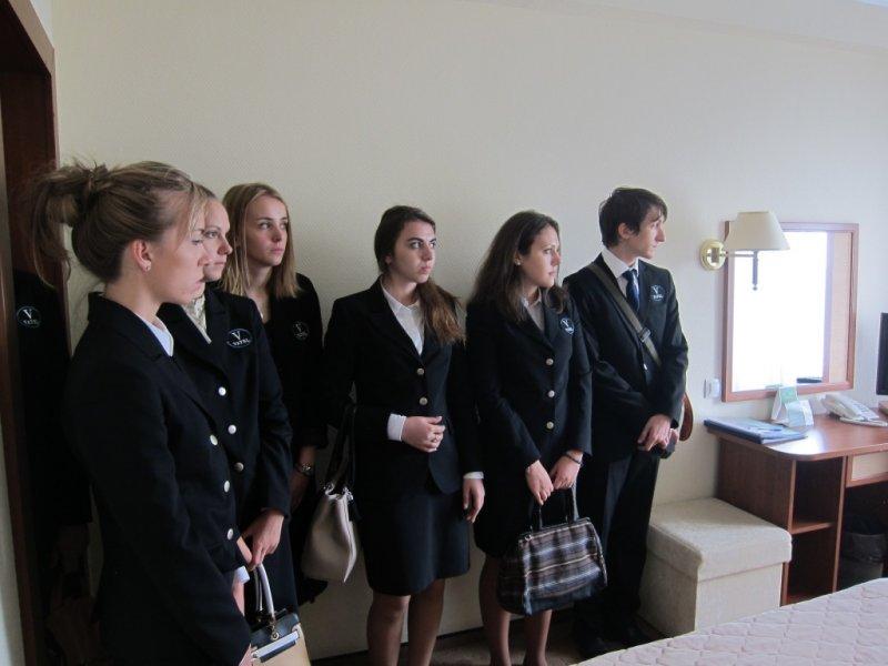 Vatel МОСКВА (Moscow) - Студенты первого курса набор 2015 на профессиональной экскурсии в Туристском Гостиничном Комплексе «Измайлово» («Гамма», «Дельта») - 8