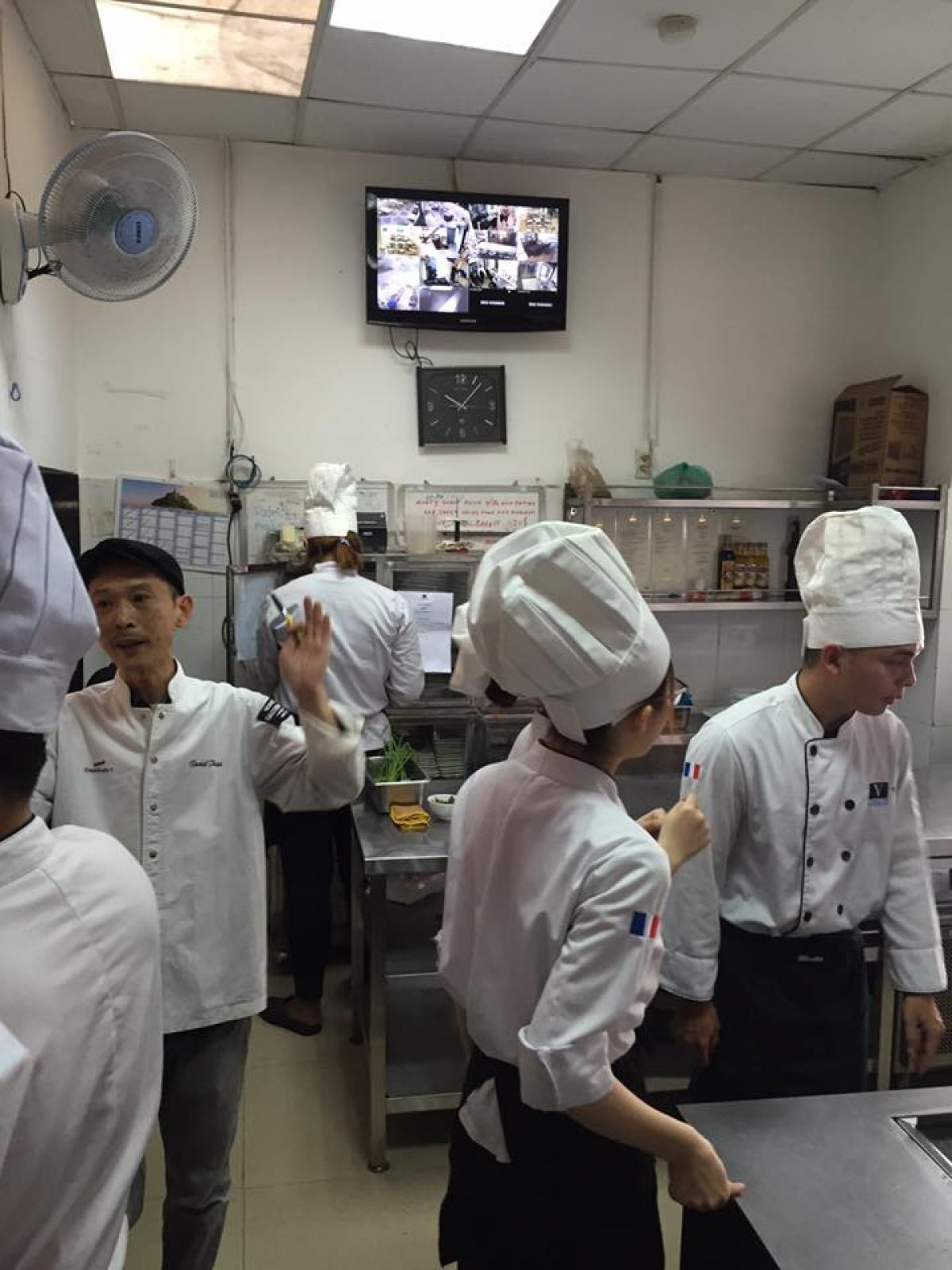 Vatel Ho Chi Minh - MA&B1-2017 Classes - Final Food & Beverage Exams  - 2