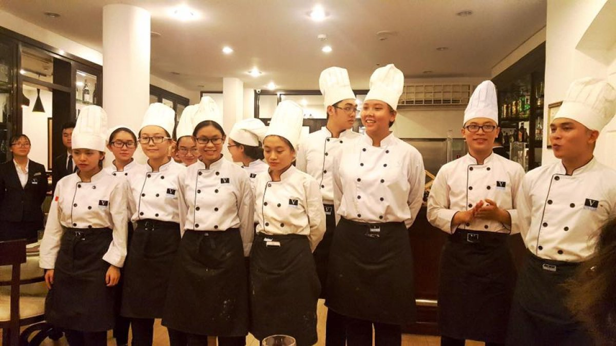 Vatel Ho Chi Minh - MA&B1-2017 Classes - Final Food & Beverage Exams  - 18