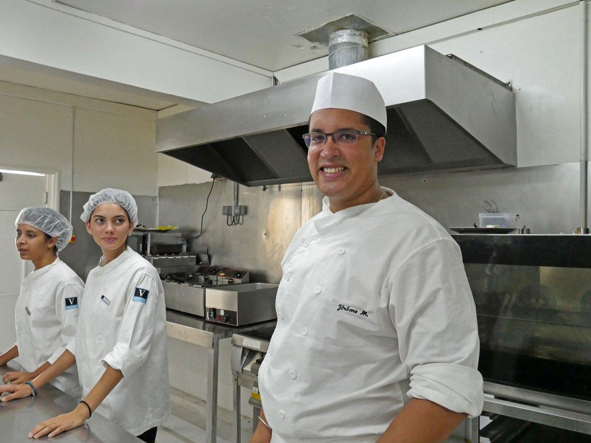 Vatel La Réunion - Evaluation en Travaux Pratiques 03/02/08 - 72