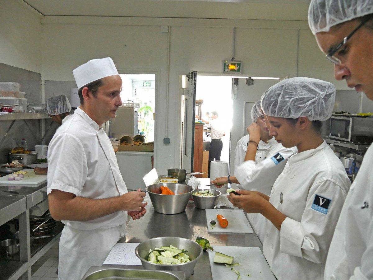 Vatel La Réunion - Evaluation en Travaux Pratiques 03/02/08 - 55