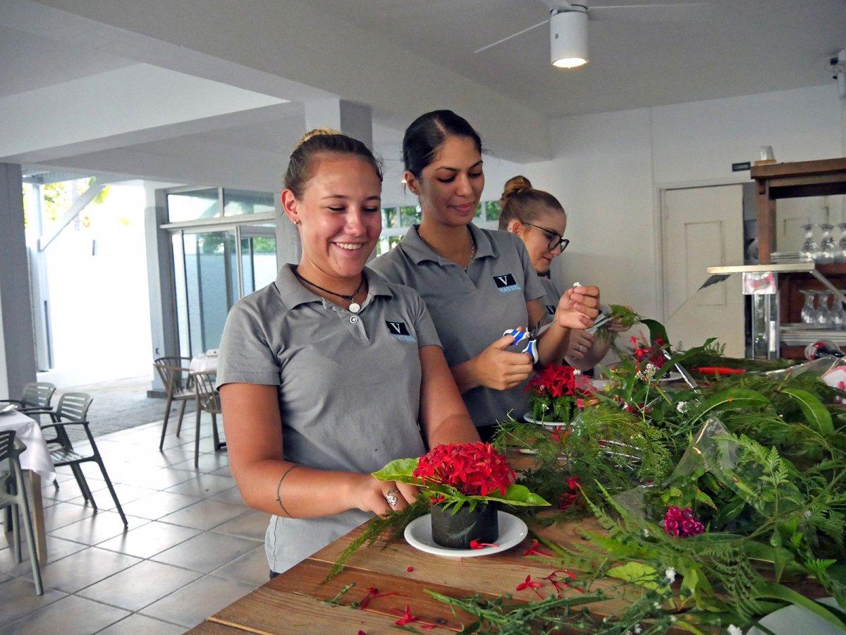 Vatel La Réunion - Evaluation en Travaux Pratiques 03/02/08 - 19