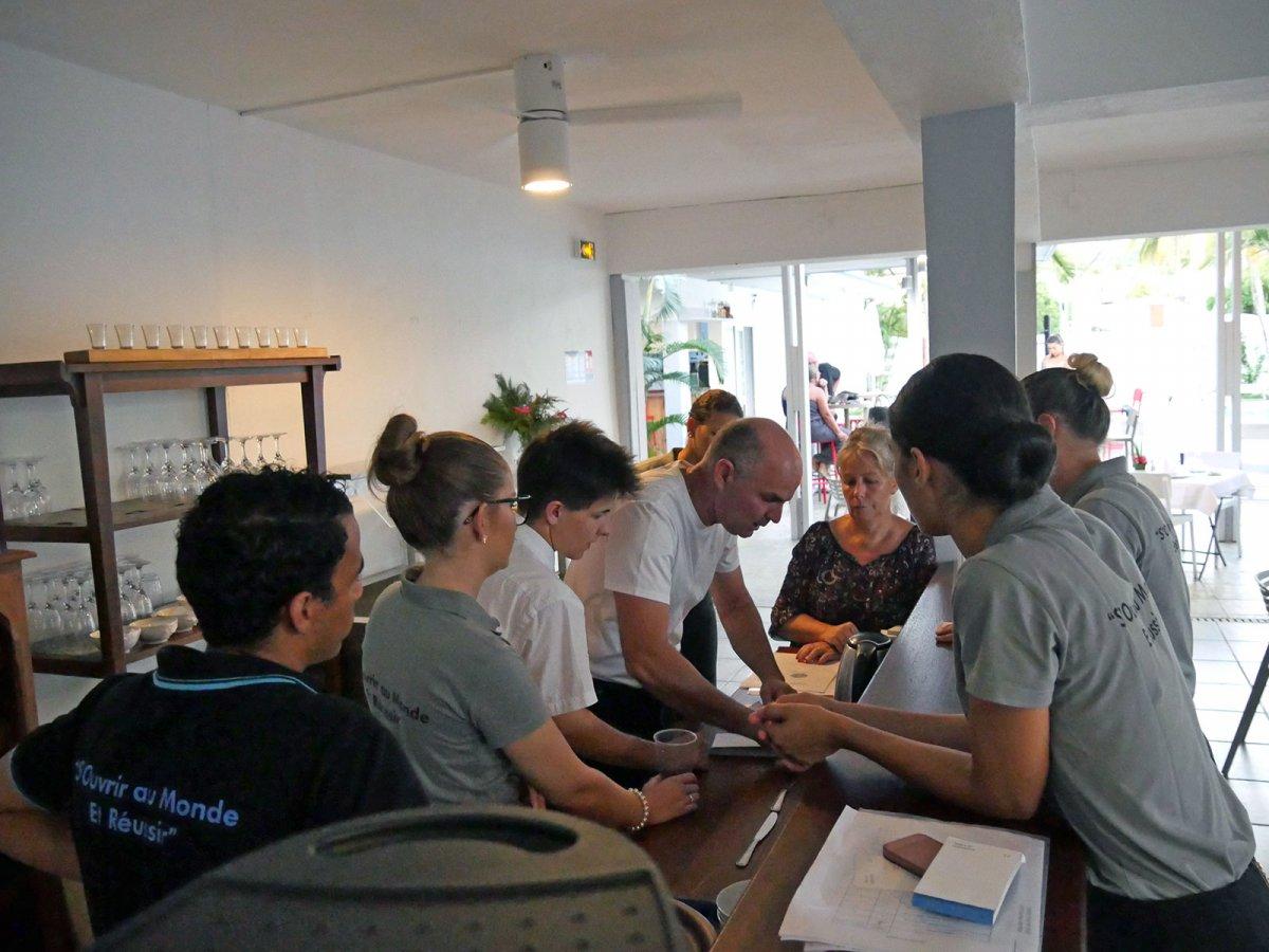 Vatel La Réunion - Evaluation en Travaux Pratiques 03/02/08 - 7