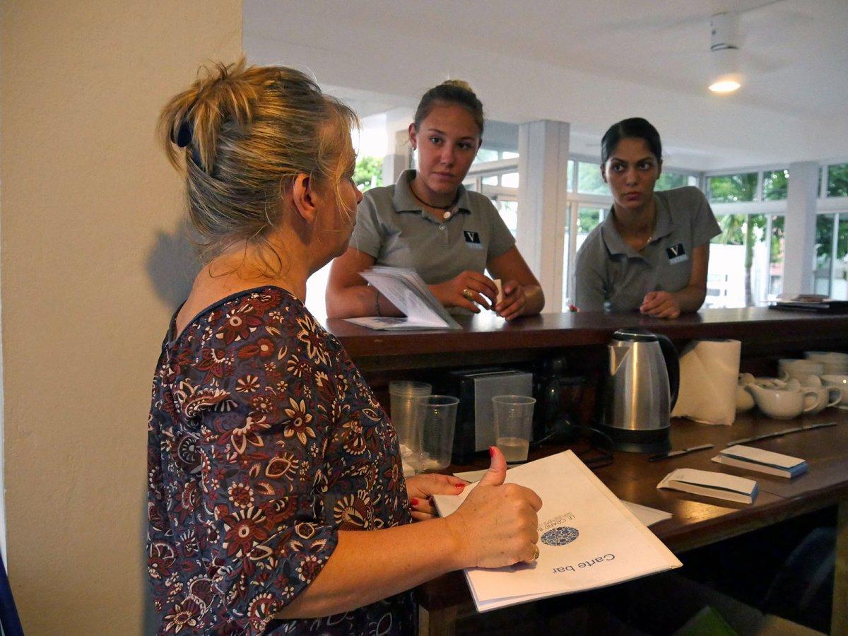 Vatel La Réunion - Evaluation en Travaux Pratiques 03/02/08 - 4