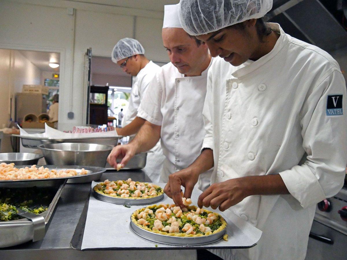 Vatel La Réunion - Evaluation en Travaux Pratiques 03/02/08 - 1