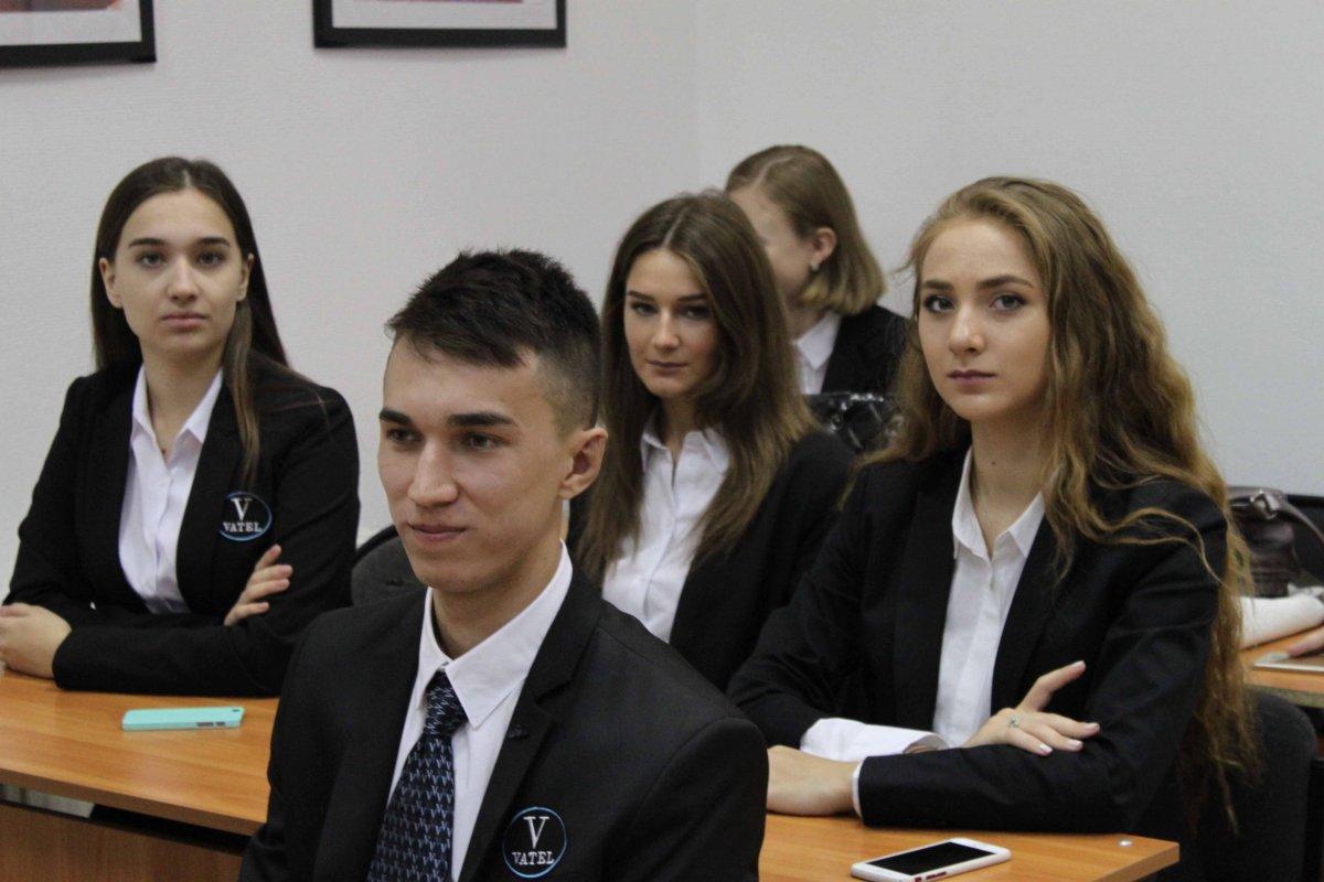 Vatel МОСКВА (Moscow) - Студенты первого курса набор 2017 - 2