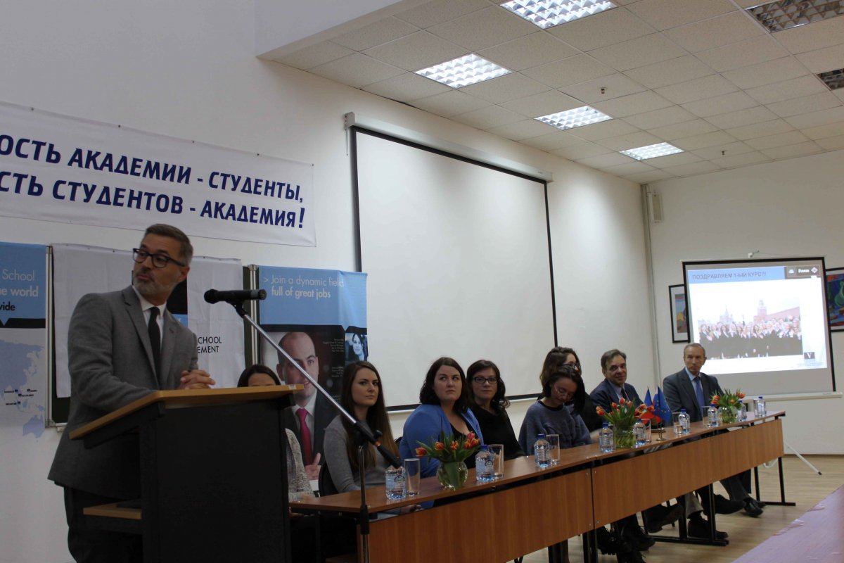 Vatel МОСКВА (Moscow) - Торжественная церемония приема студентов 1-го  курса набор 2017 - 6