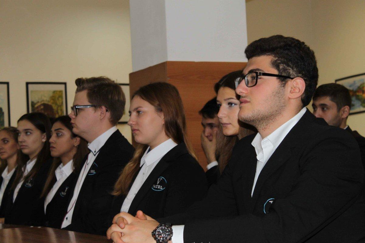 Vatel МОСКВА (Moscow) - Торжественная церемония приема студентов 1-го  курса набор 2017 - 8