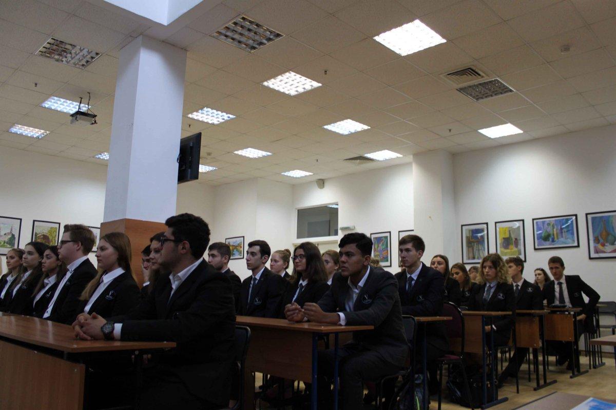 Vatel МОСКВА (Moscow) - Торжественная церемония приема студентов 1-го  курса набор 2017 - 9