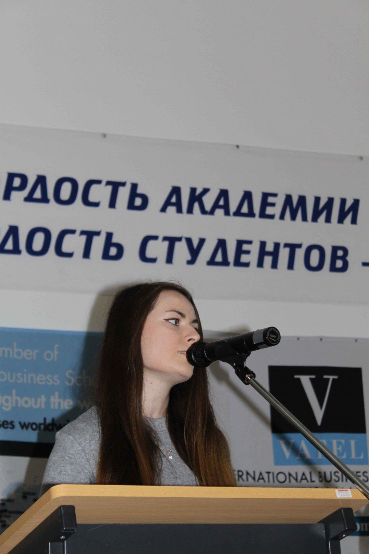 Vatel МОСКВА (Moscow) - Торжественная церемония приема студентов 1-го  курса набор 2017 - 10