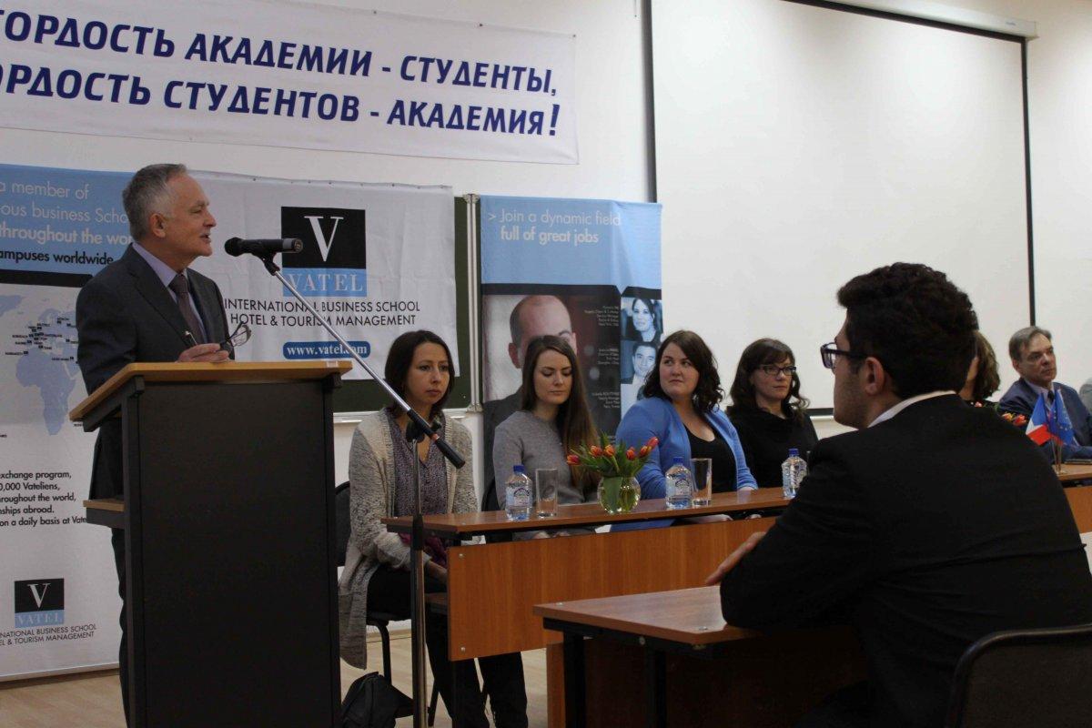 Vatel МОСКВА (Moscow) - Торжественная церемония приема студентов 1-го  курса набор 2017 - 1