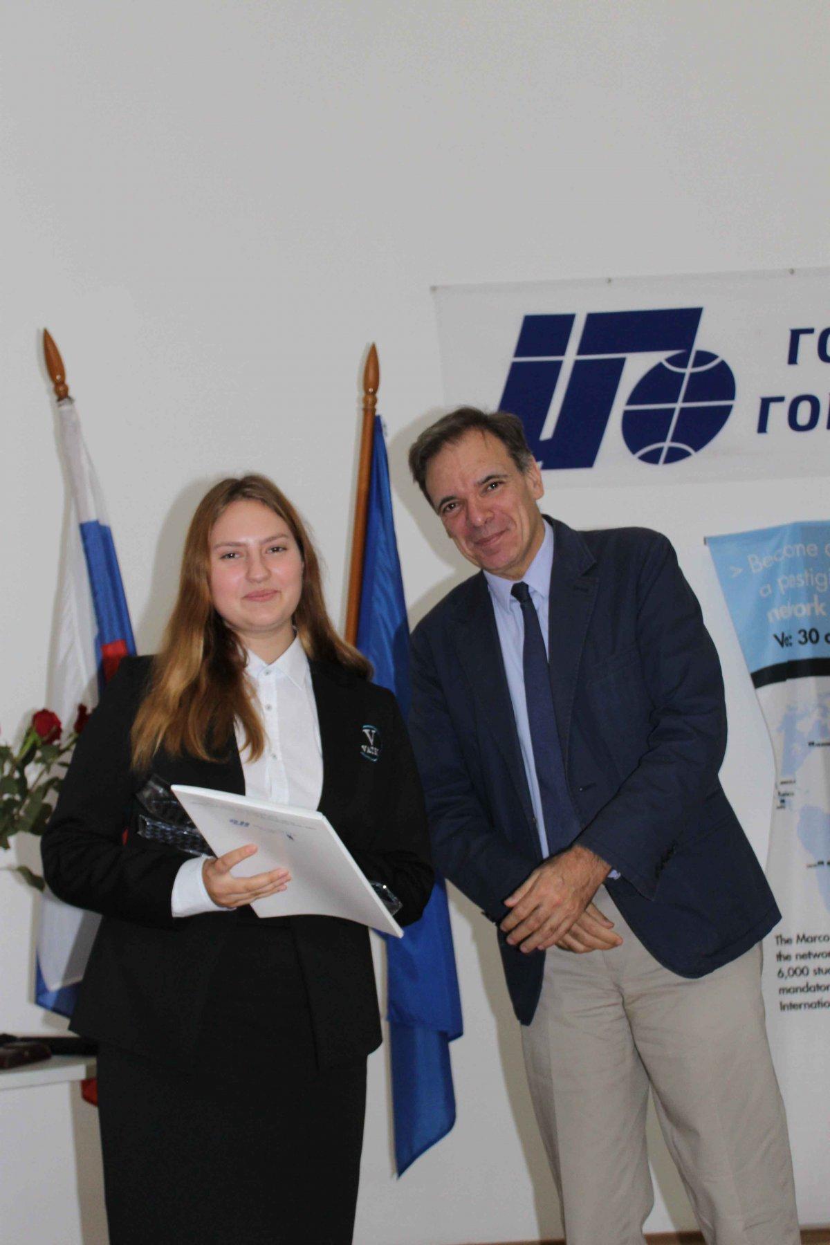 Vatel МОСКВА (Moscow) - Торжественная церемония приема студентов 1-го  курса набор 2017 - 13