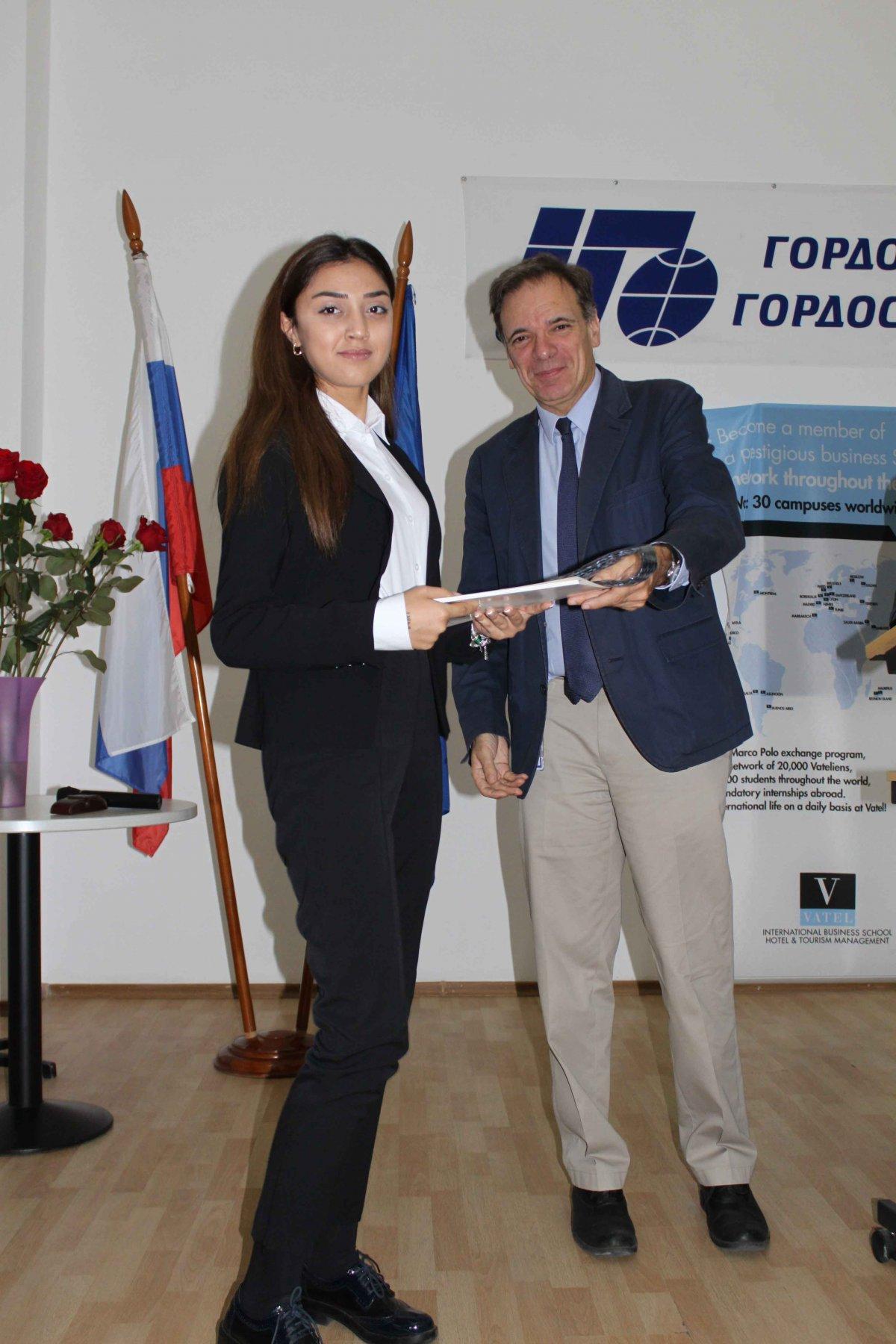 Vatel МОСКВА (Moscow) - Торжественная церемония приема студентов 1-го  курса набор 2017 - 14