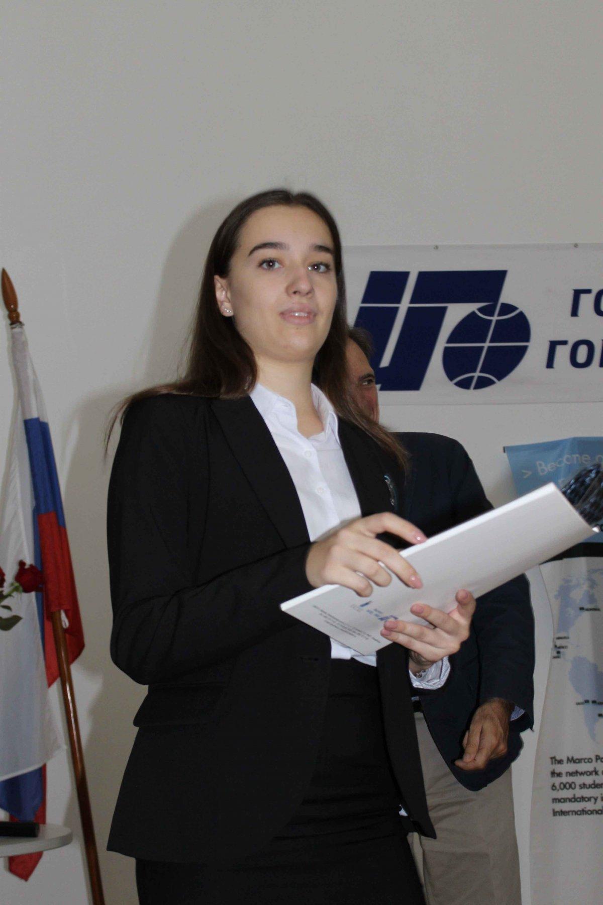 Vatel МОСКВА (Moscow) - Торжественная церемония приема студентов 1-го  курса набор 2017 - 15