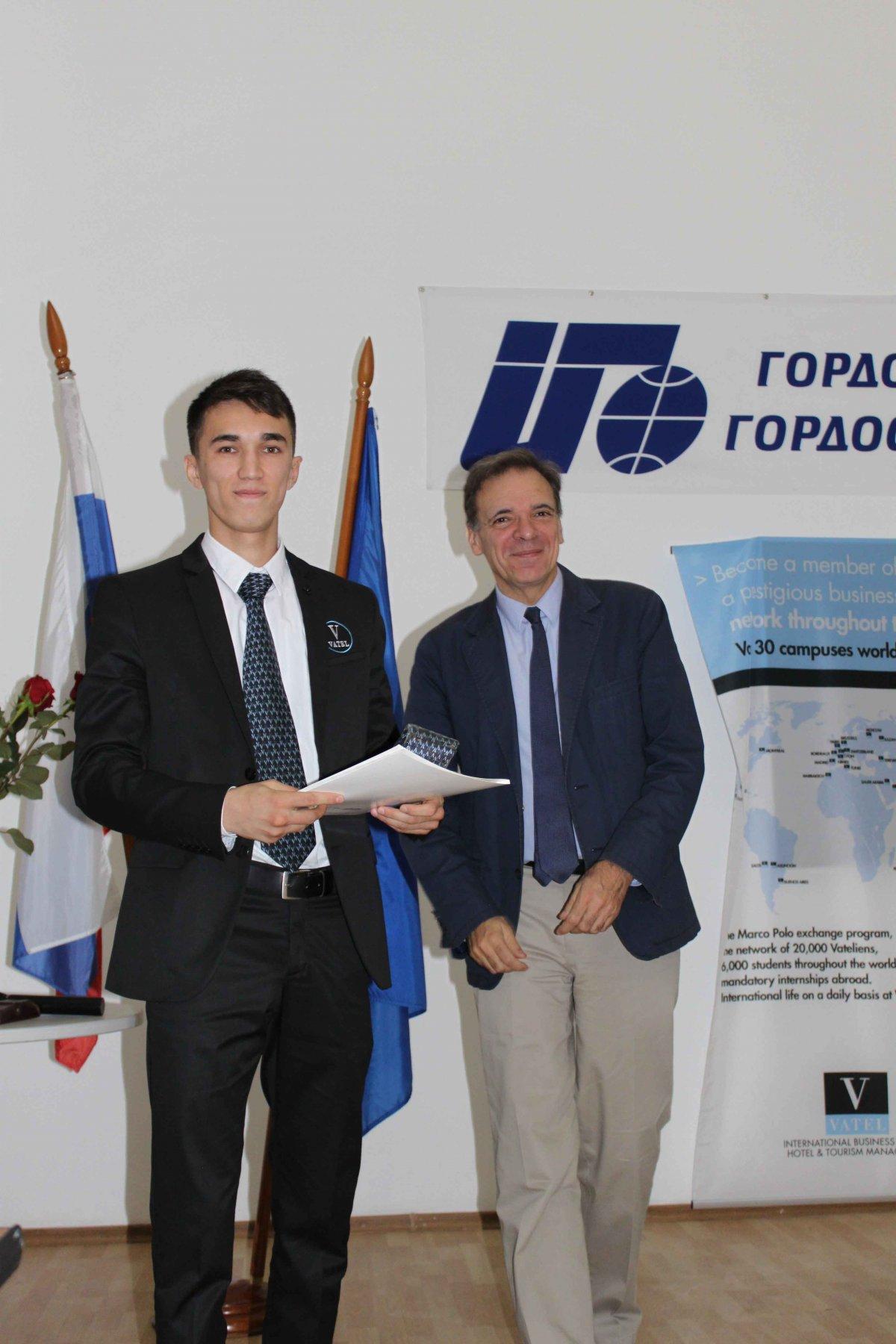 Vatel МОСКВА (Moscow) - Торжественная церемония приема студентов 1-го  курса набор 2017 - 18