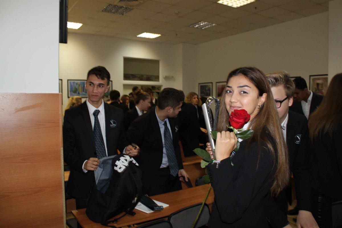 Vatel МОСКВА (Moscow) - Торжественная церемония приема студентов 1-го  курса набор 2017 - 19